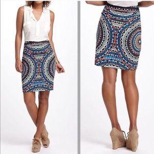 Anthropologie Olmeda Pencil Skirt - Size 8